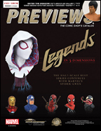 PREVIEWS Cover-December 18 Front