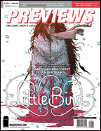 PREVIEWS Cover-January 19 Back