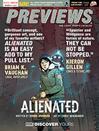 December PREVIEWS Cover Front