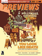 April PREVIEWS Front Cover