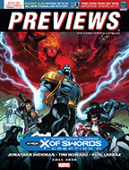 June PREVIEWS Front Cover