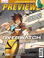 October PREVIEWS Back
