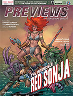 March PREVIEWS Front