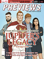 April PREVIEWS Front